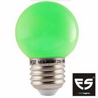 LED Kogellamp E27 Groen
